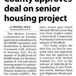 SENIOR HOUSING PROJECT