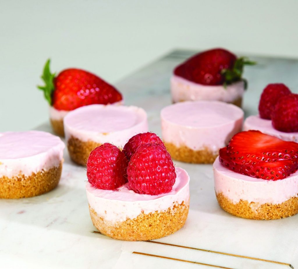 Strawberry Cream Cheese Tartlets